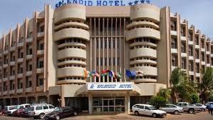 Splendid hotel in Ouagadougou