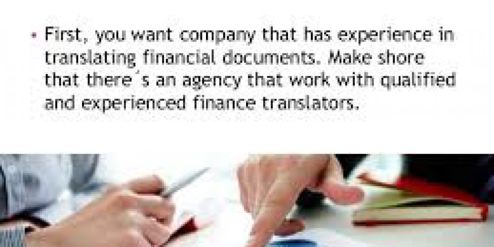 What Defines a Super Quality Financial Translation?